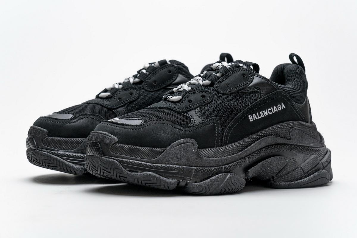 Balenciaga Triple S Black 483513 W06E2 2323