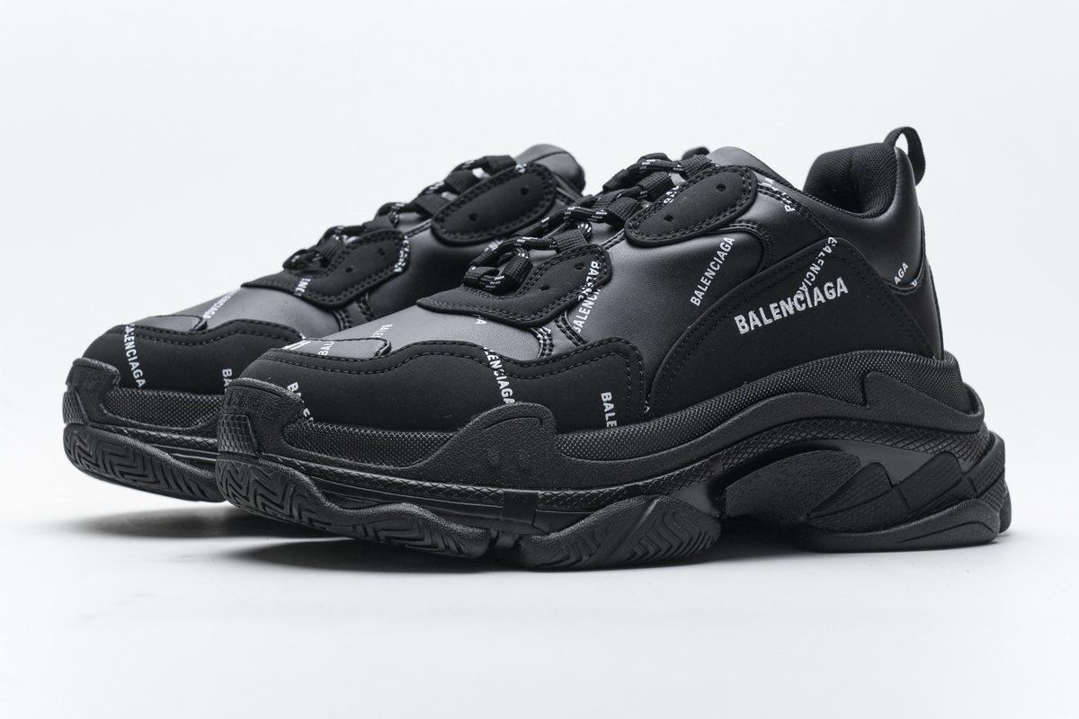 Balenciaga Triple S Black 524039 W06E2 2020