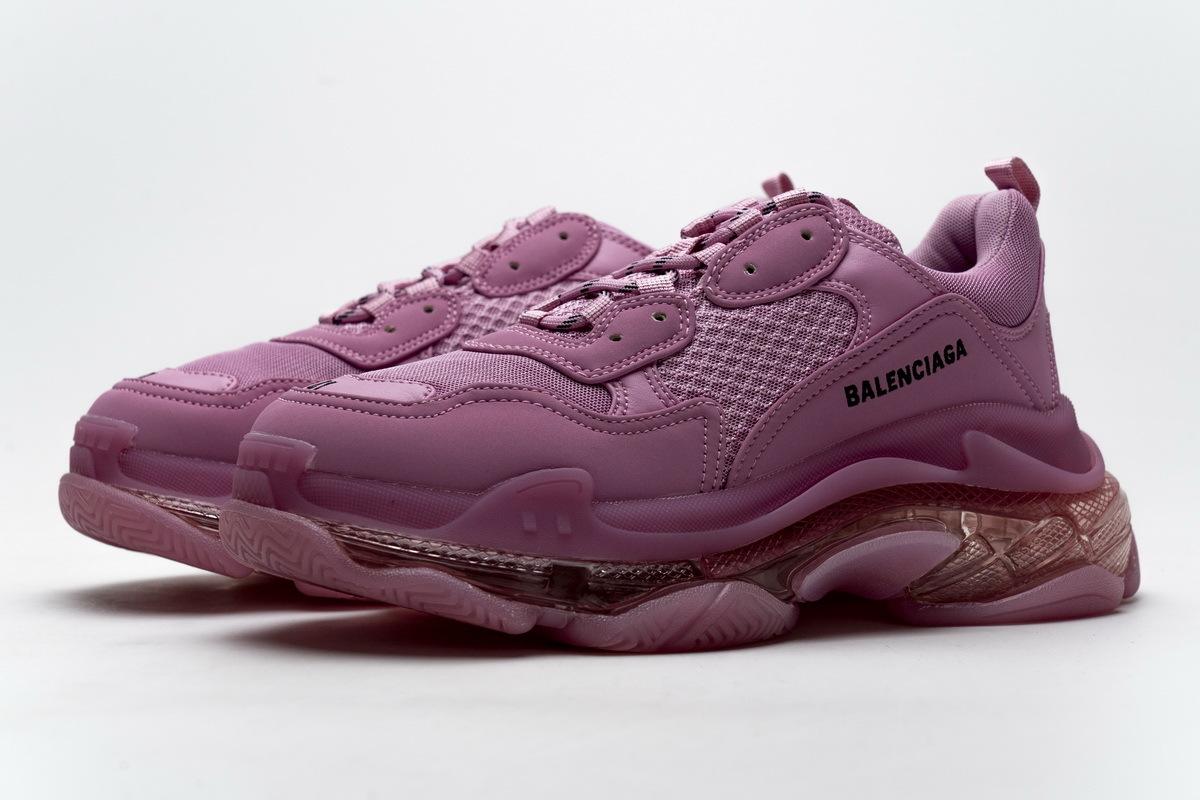 Balenciaga Triple S Clearsole Pink 544351 W2GA1 5760