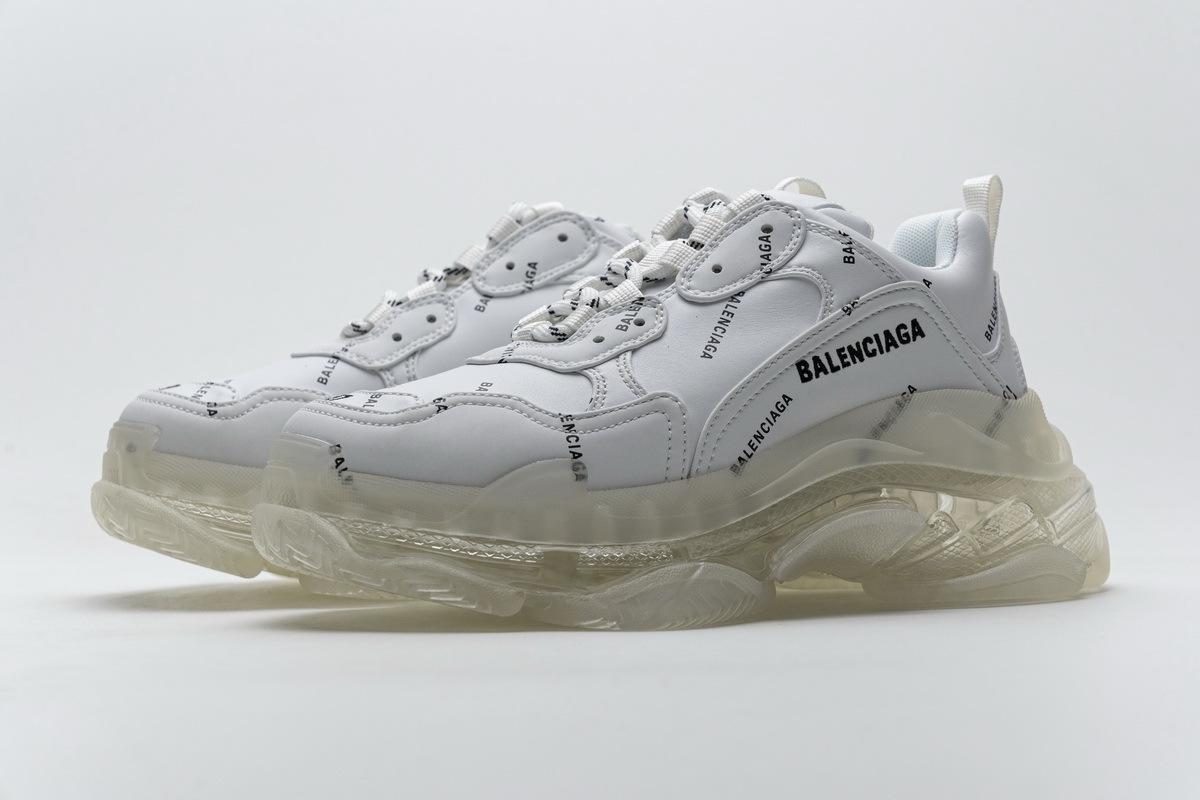 Balenciaga Triple S Letter White 524039 W09E1 2021