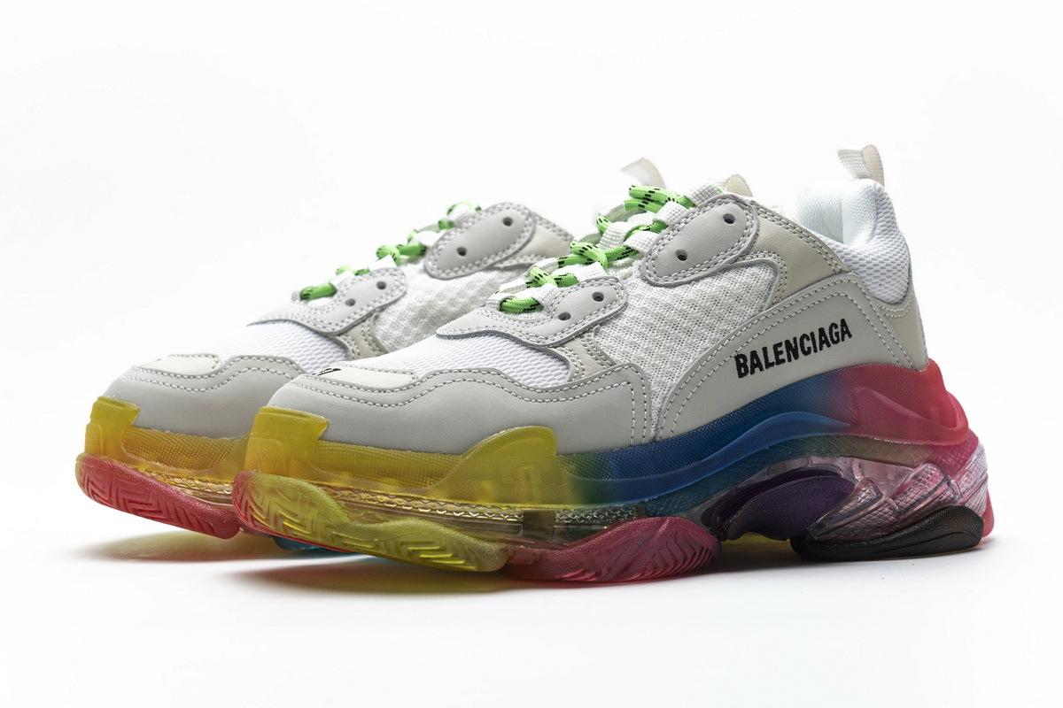 Balenciaga Triple S Rainbow 544351 W09E1 1895