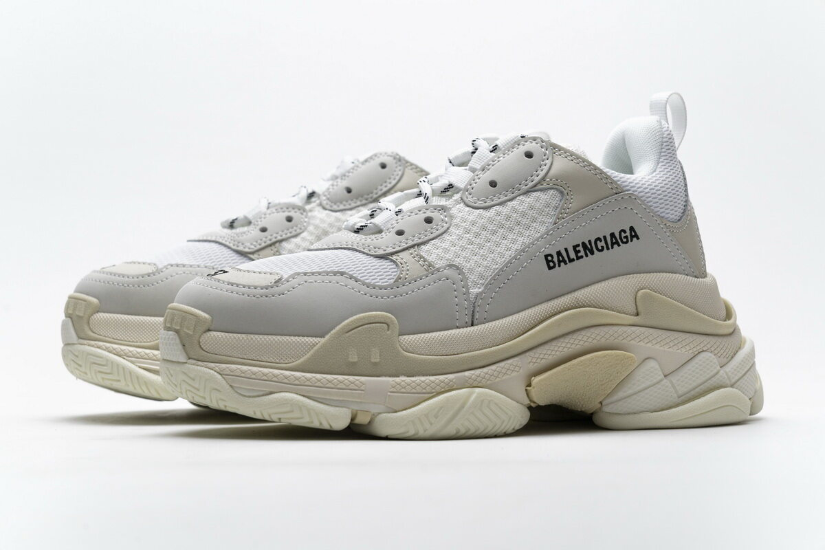 Balenciaga Triple S White 483546 W06F1 9000