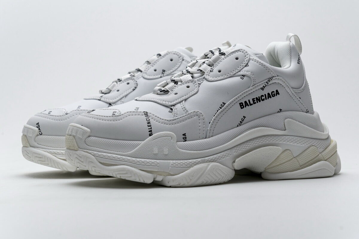 Balenciaga Triple S White 524039 W06E2 2021