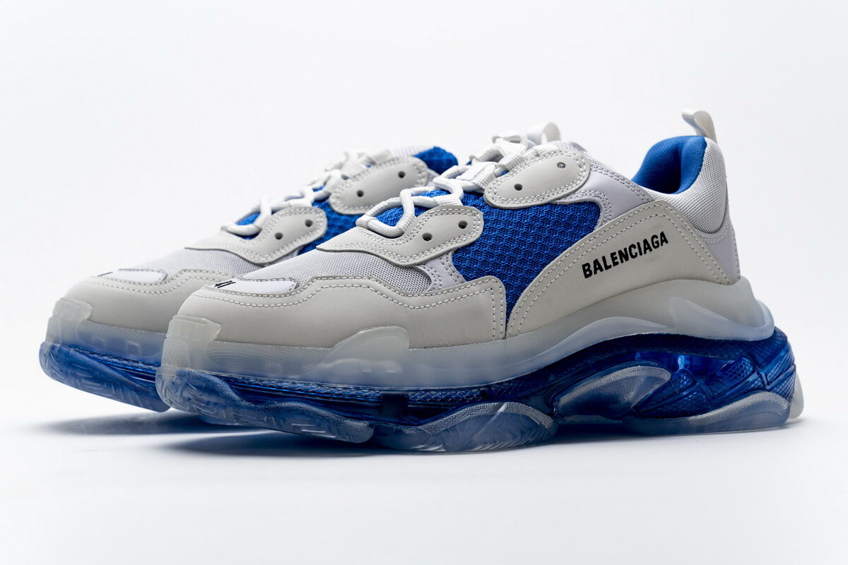 Balenciaga Triple S White Blue 541624 W09E1 1772