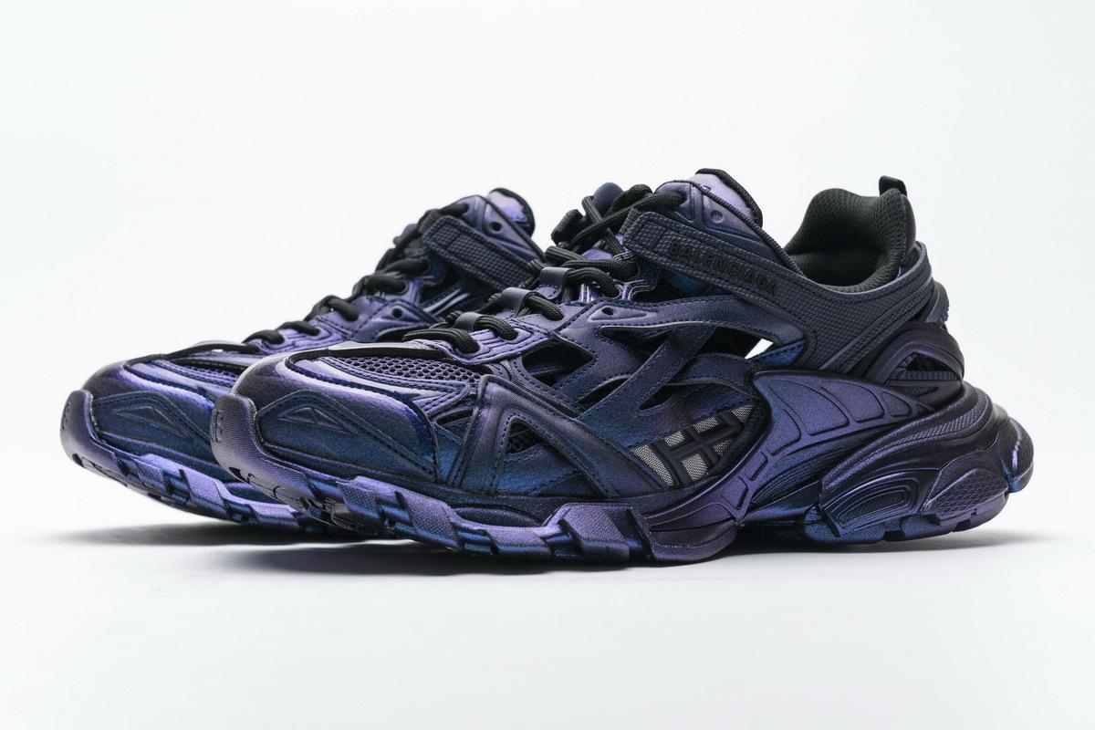 Blenciaga Track 2 Sneaker Black Green (No lights) 568615 W2MA1 5610
