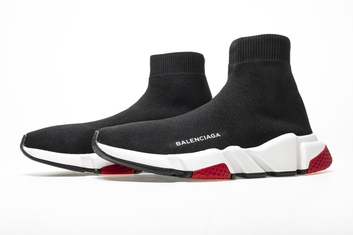 Top Originals Supplier Balenciaga Speed Runner Black White Red