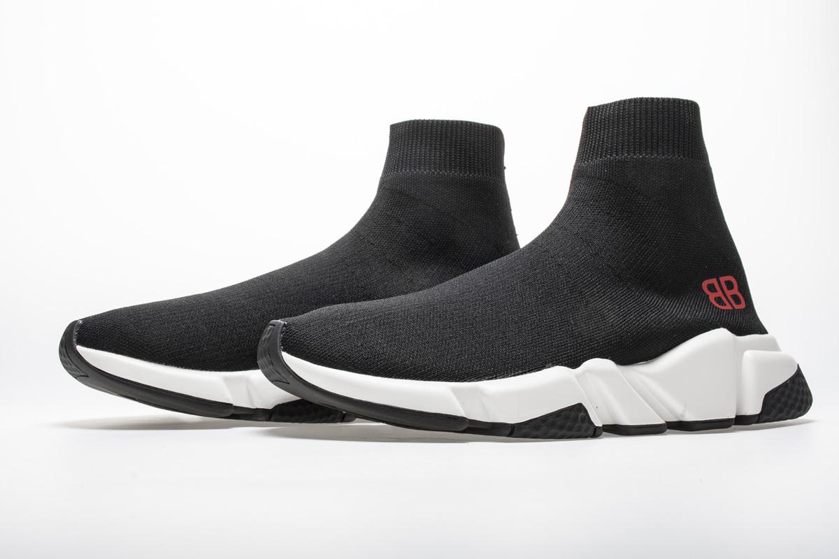Balenciaga Stretch Mesh High Top Sneaker