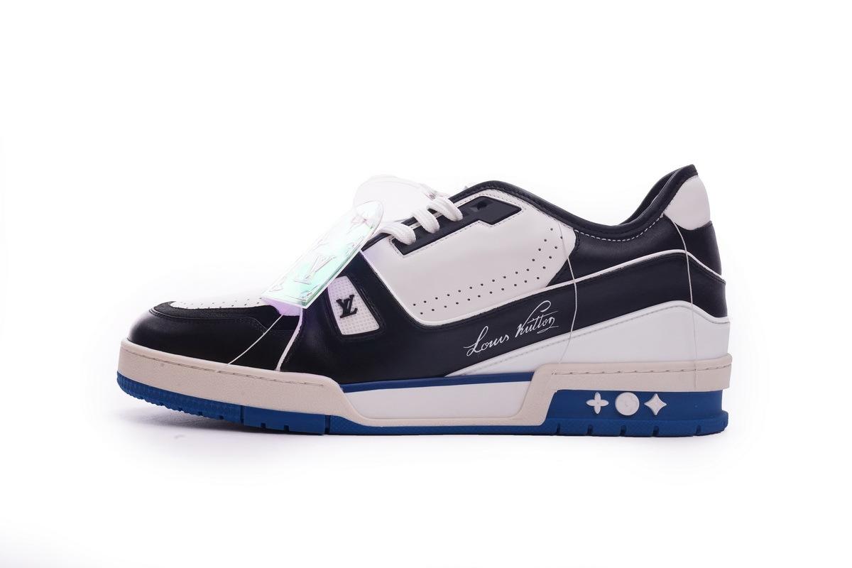 Louis Vuitton Trainer Black Blue