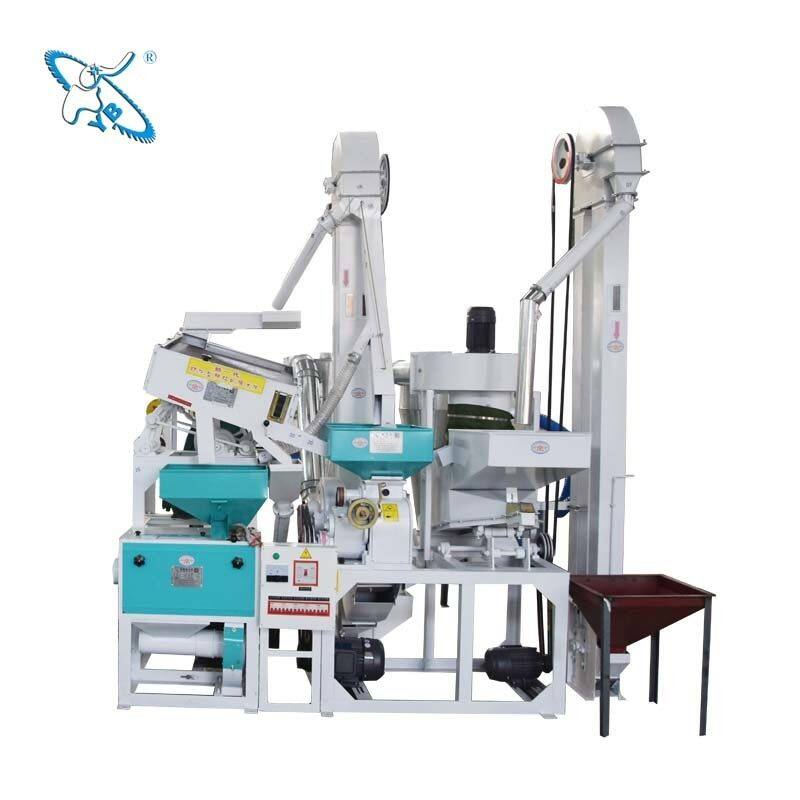 The working process of a complete set of rice processing equipment is the process of processing rice into rice