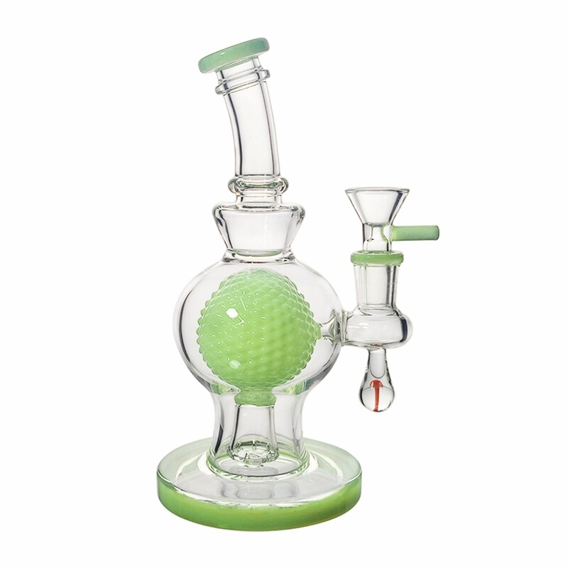 Mini Crystal Ball Showerhead Perc Bong