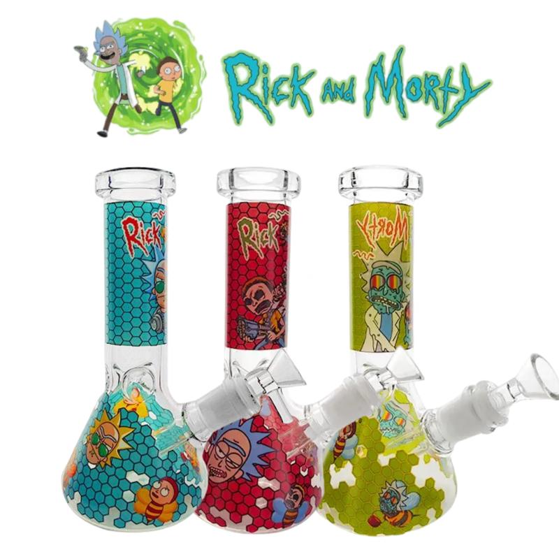 Hot Sale Rick And Morty Beaker Glass Bong