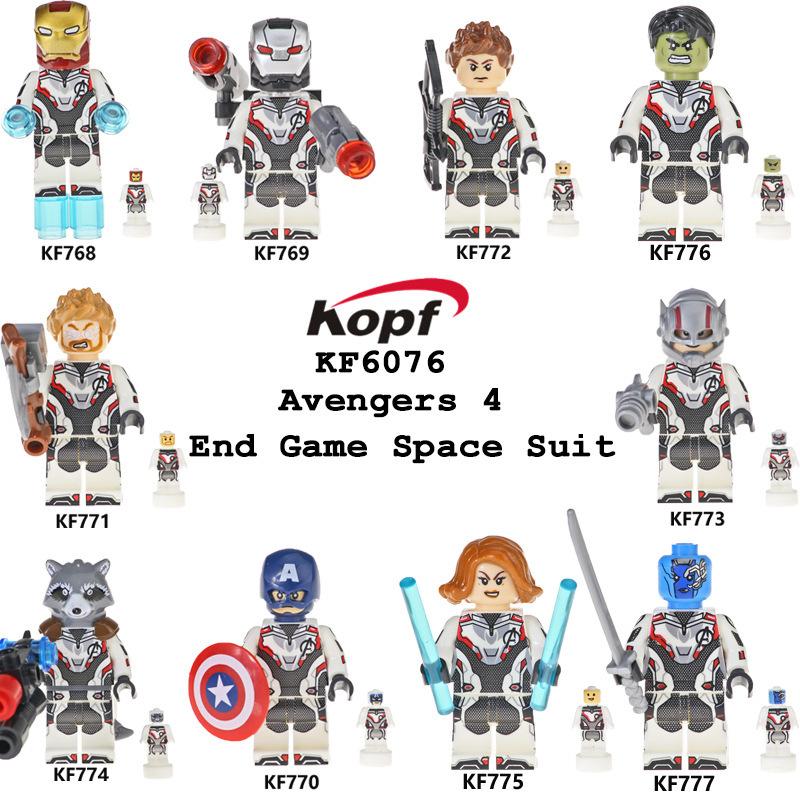 Kopf Avengers 4 End Game Space Suit -Assembled Building Block Minifigures