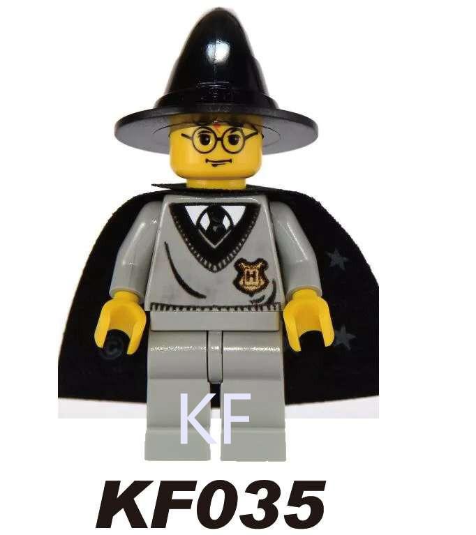 Kopf Harry Potter Series Single Human Arthur Weasley Puzzle Block Minifigures