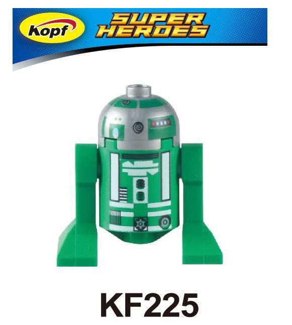 Kopf Star Wars Assembled Robot Minifigures