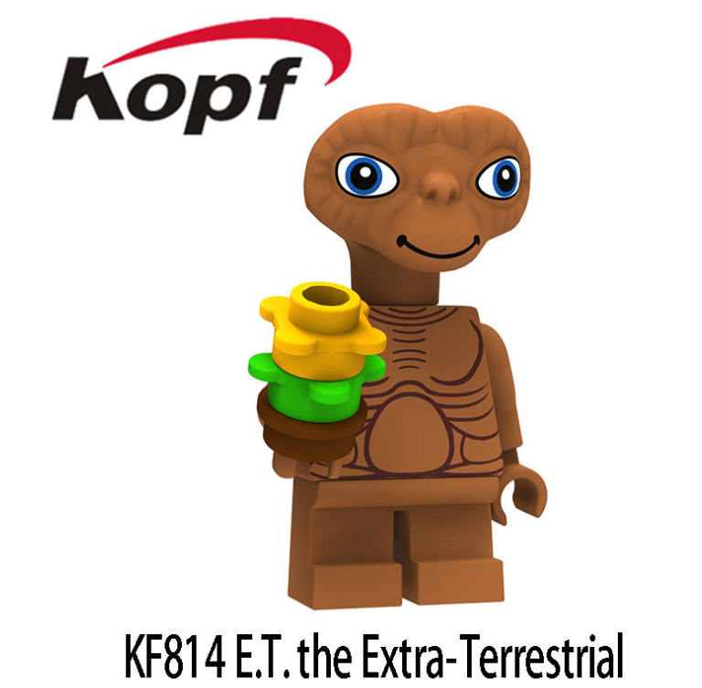 Kopf Star Wars E.T.Extra -Terrestrial Assembler With WM819 Minifigures