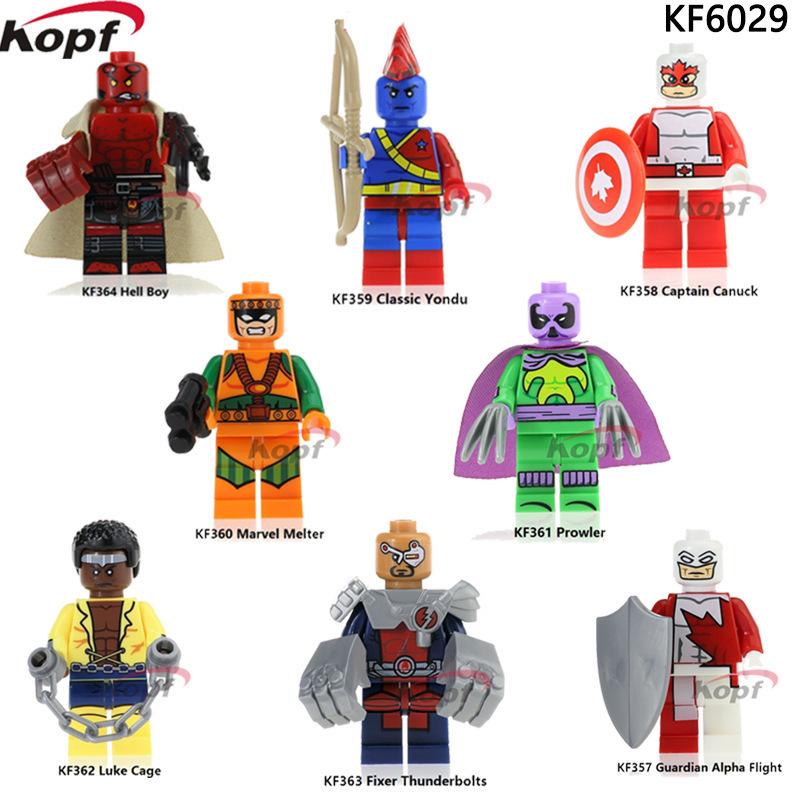 Kopf Superhero Series - Marvel toy building block minifigures