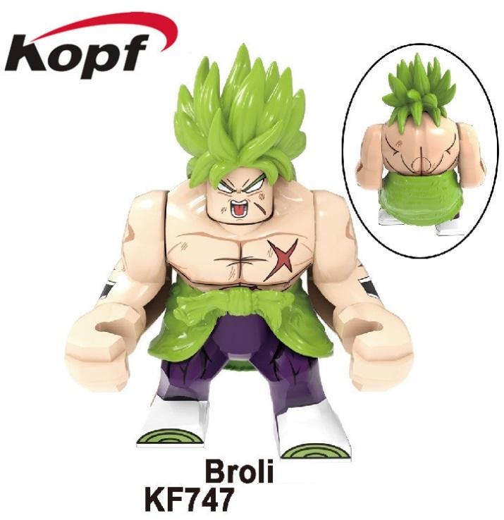 Kopf Dragon Ball Broli Broli Boy Spelling Minifigures