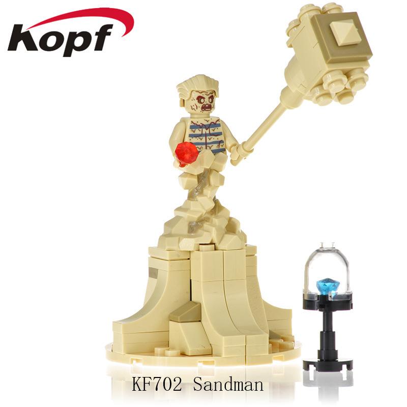 Kopf Superhero Series - Adventure Comic Sandman Assembled Building Block Minifigure