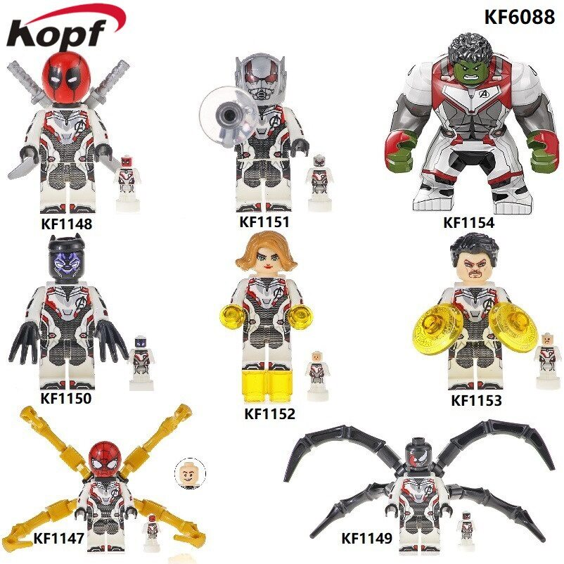 Kopf Superhero Series - Assembled building blocks miniature educational toys