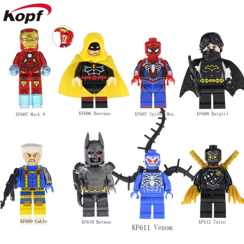 Kopf Superhero Series - Iron Man Batman Venom