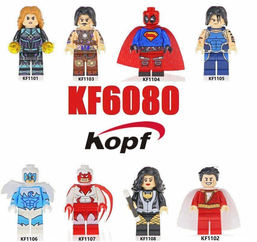 Kopf Superhero Series - KF6080 assembled minifigure toy