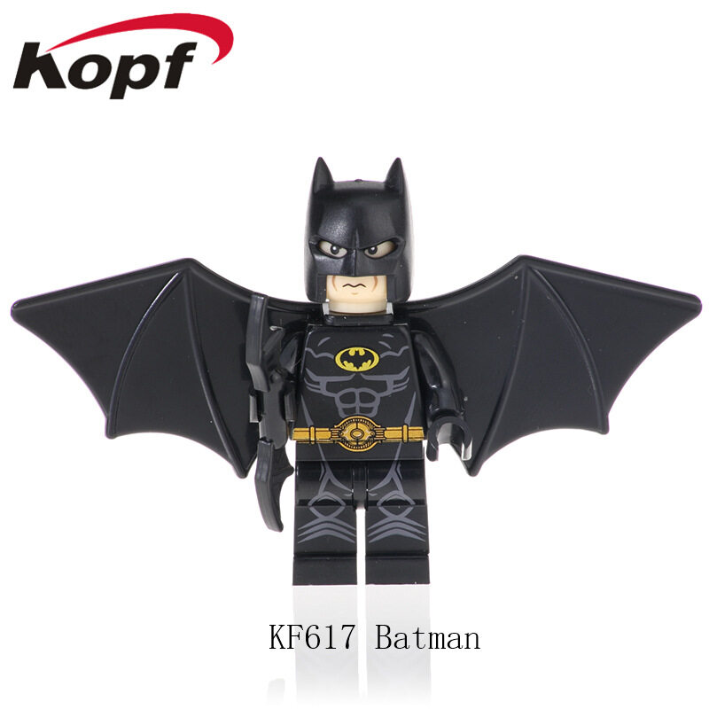 Kopf Superhero Series - Spider Iron Batman Assembled Minifigure