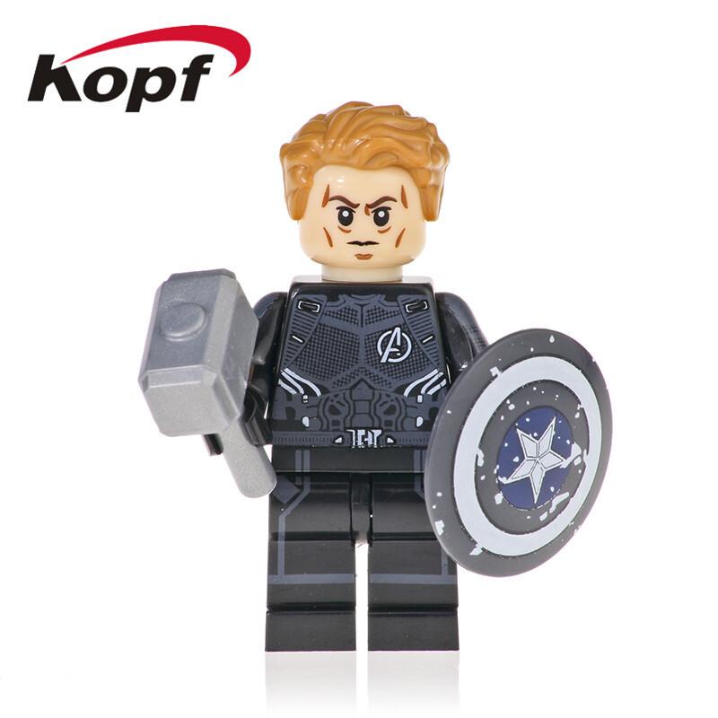 Kopf Superhero Series - American team assembled building blocks miniature educational toys