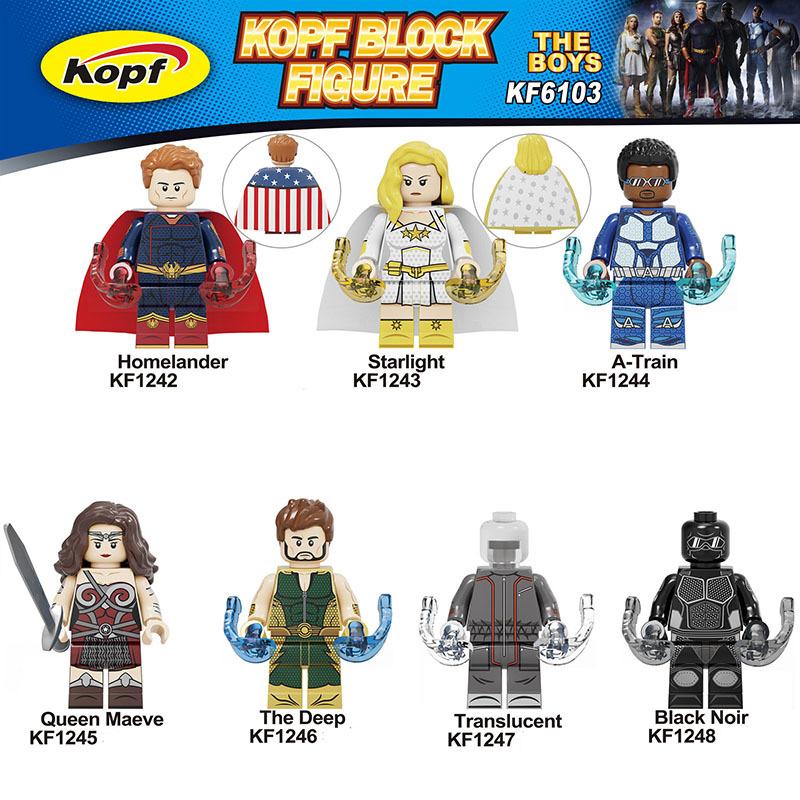 Kopf Superhero Series - Black Robe Picket Starlight Locomotive