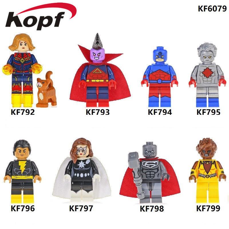Kopf Superhero Series - Captain Marvel Doctor Dou Jianguang Black Adam