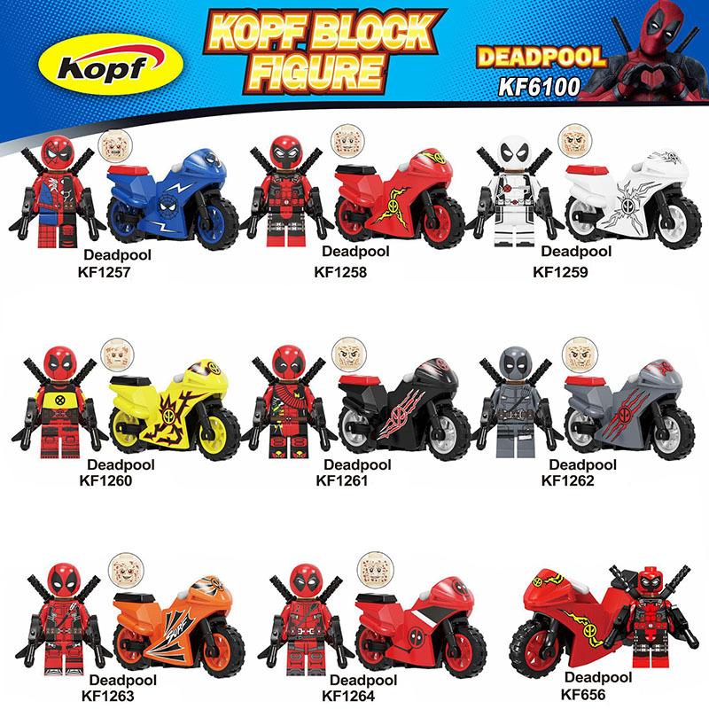 Kopf Superhero Series - Deadpool Motorcycle