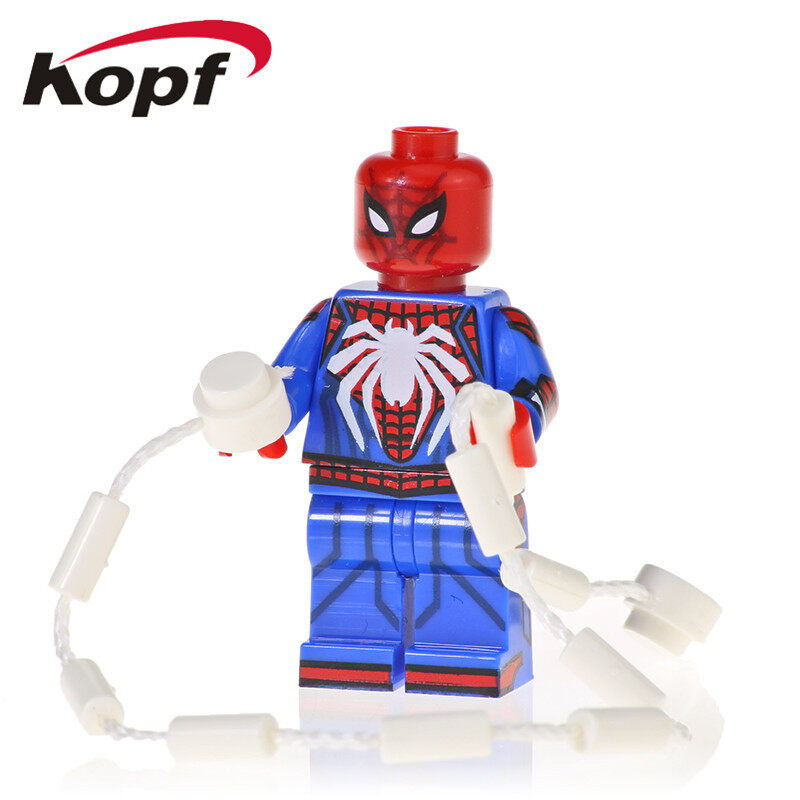 Kopf Superhero Series - Spiderman assembled building blocks minifigure KF1124