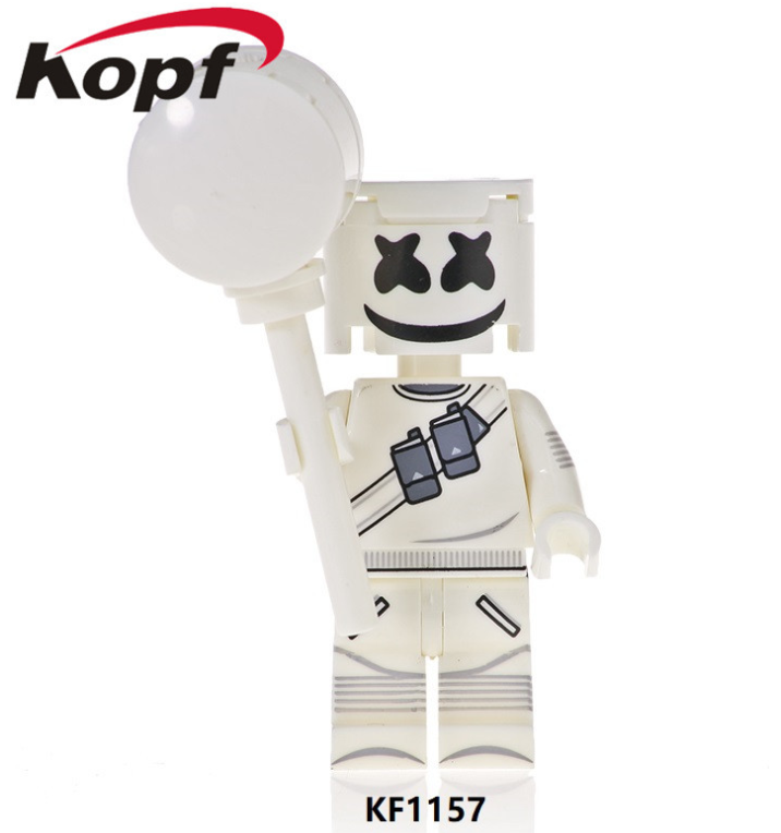 Kopf Celebrity & Singer & Painter Minifigures Marshmallow People Minifigures
