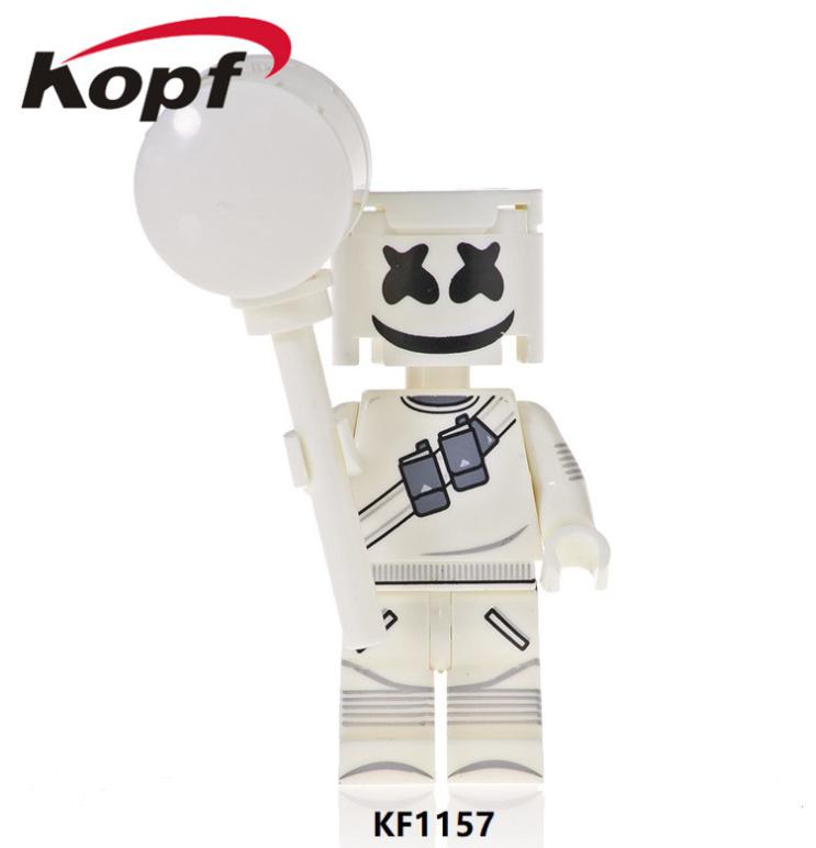 Kopf Celebrity & Singer & Painter Third Party Marshmallow Minifigures