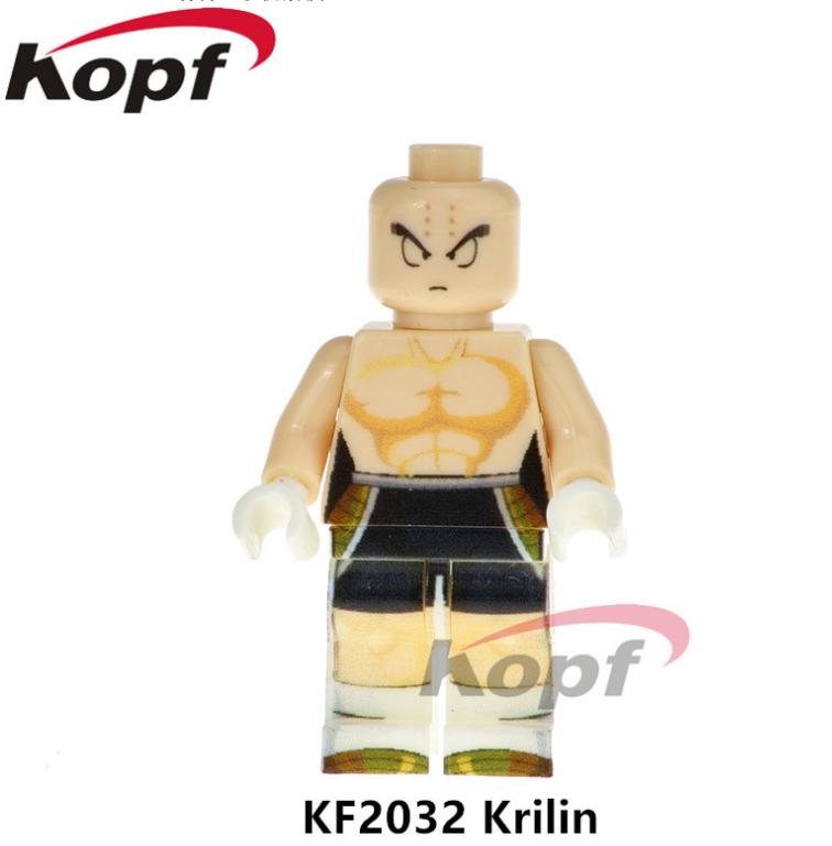 Kopf Dragon Ball Building block KF2032 Krilin Minifigures