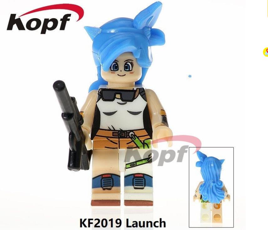 Kopf Dragon Ball Character Launch Assembled Building Block Bag Minifigures