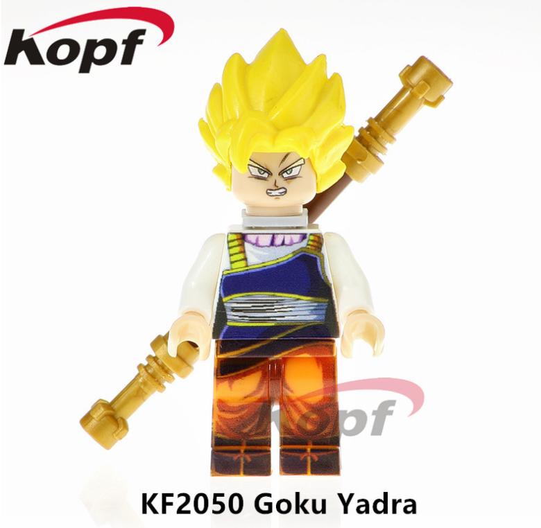 Kopf Dragon Ball GokuYadra Educational Toys Minifigures