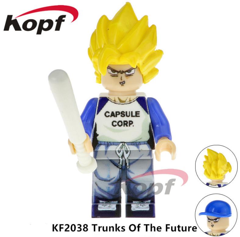 Kopf Dragon Ball  KF2038 Trunks Of The Future Minifigures