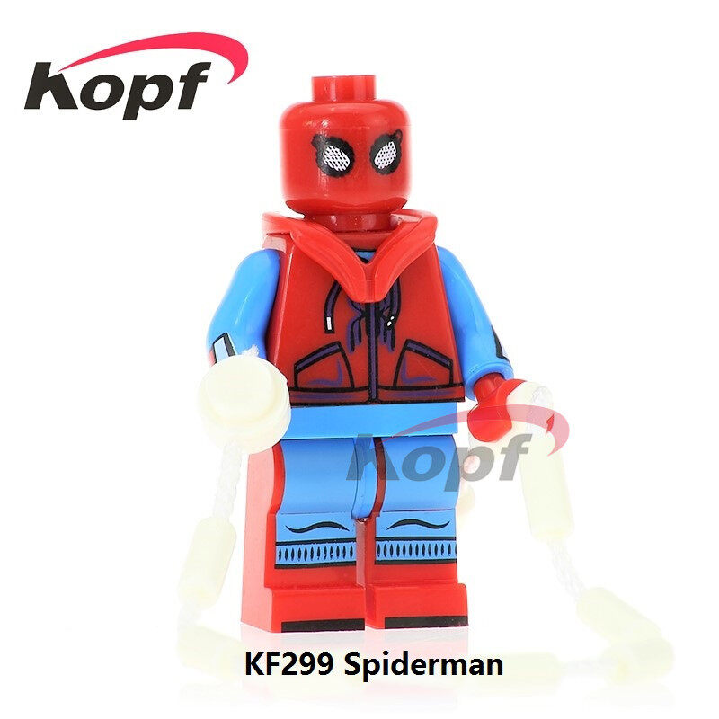 Kopf Superhero Series - KF299 Spiderman assembled minifigure