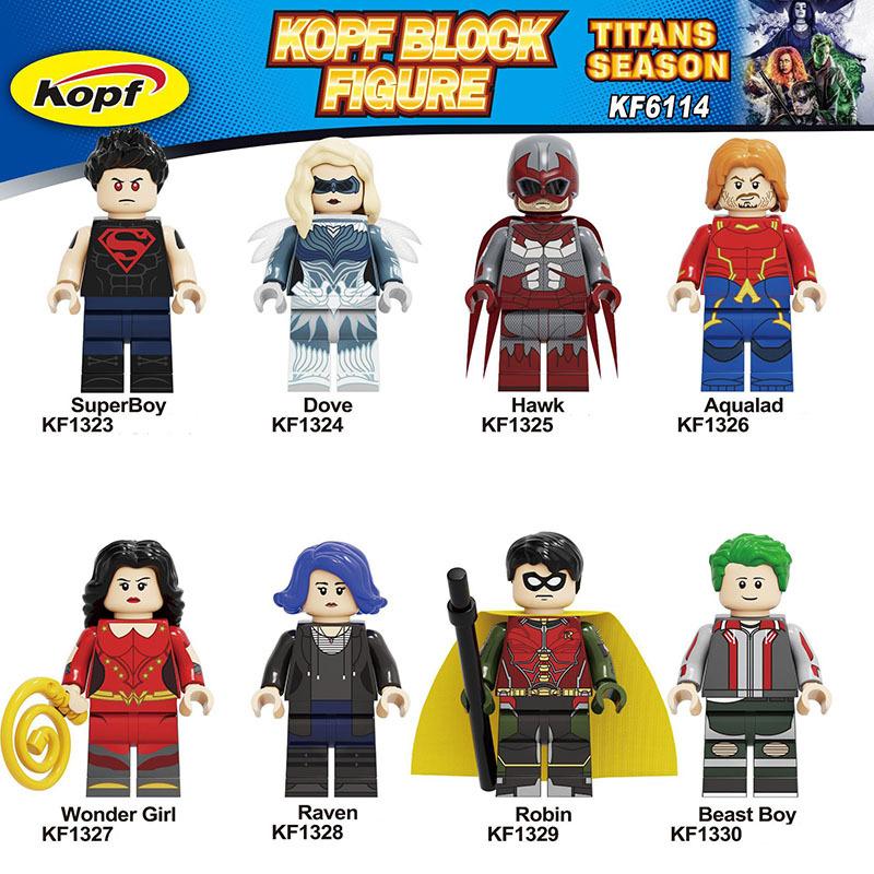 Kopf Superhero Series - KF6114 Children's toy building block minifigures