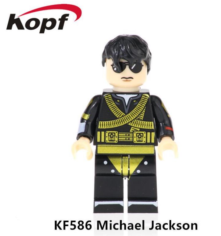 Kopf Celebrity & Singer & Painter Singer Michael Jackson Minifigures