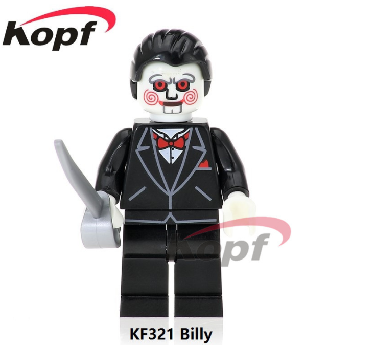 Kopf Halloween Chainsaw Fright Billy Minifigures