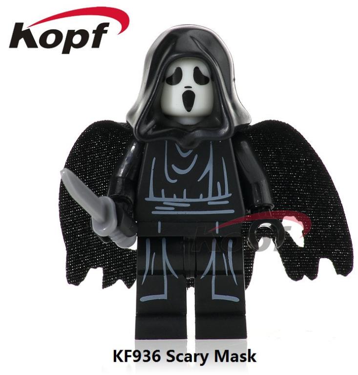 Kopf Halloween KF936 ScaryMask Minifigures