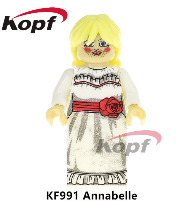 Kopf Halloween KF991 Annabel Minifigures