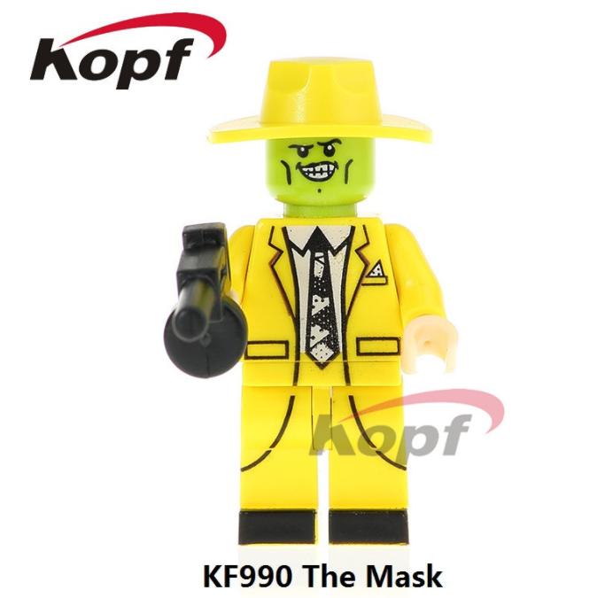 Kopf Halloween The Mask Disguised Monster Movie Minifigures