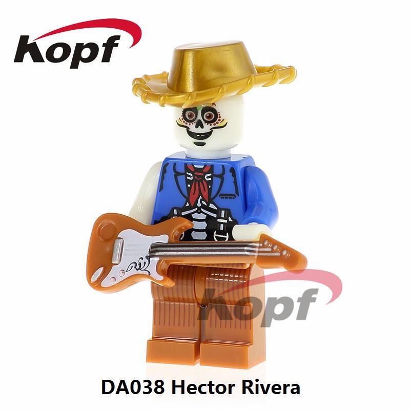 Kopf Third Party Series - DA038 HectorRivera Minifigures