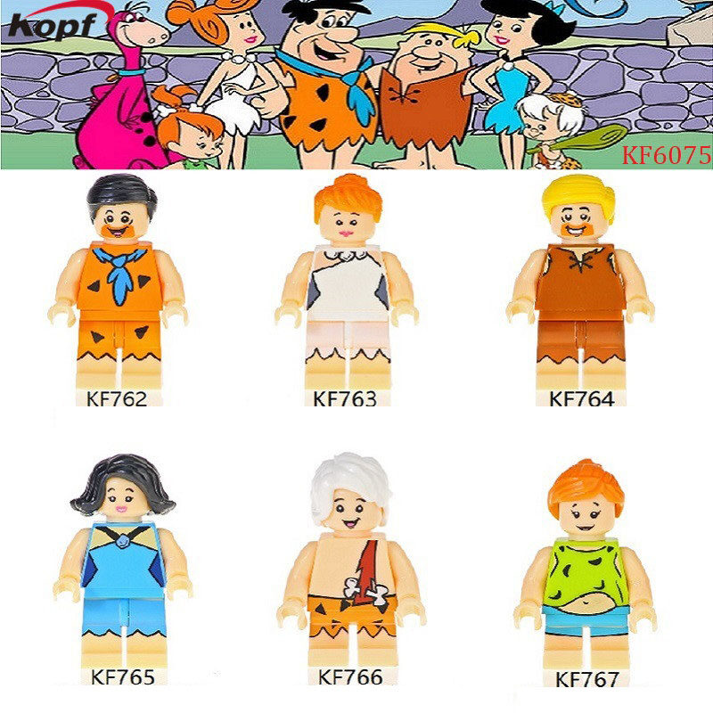 Kopf Third Party Series - Flint and Steel Family Assembled Building Block Minifigures