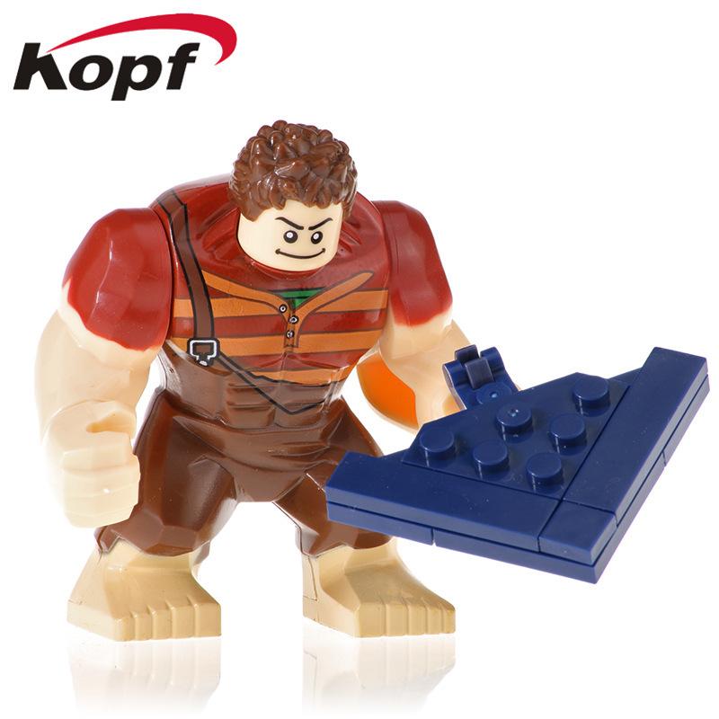 Kopf Third Party Series - Innocent Destruction King Series Ralph Minifigures