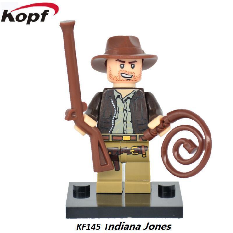 Kopf Third Party Series - KF145 Indiana Jones Minifigures