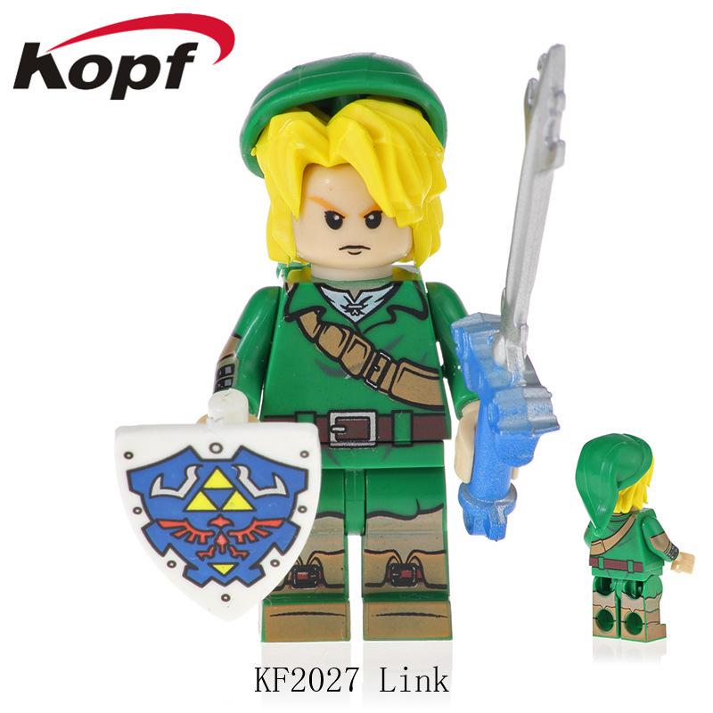 Kopf Third Party Series - KF2027 Link Minifigures