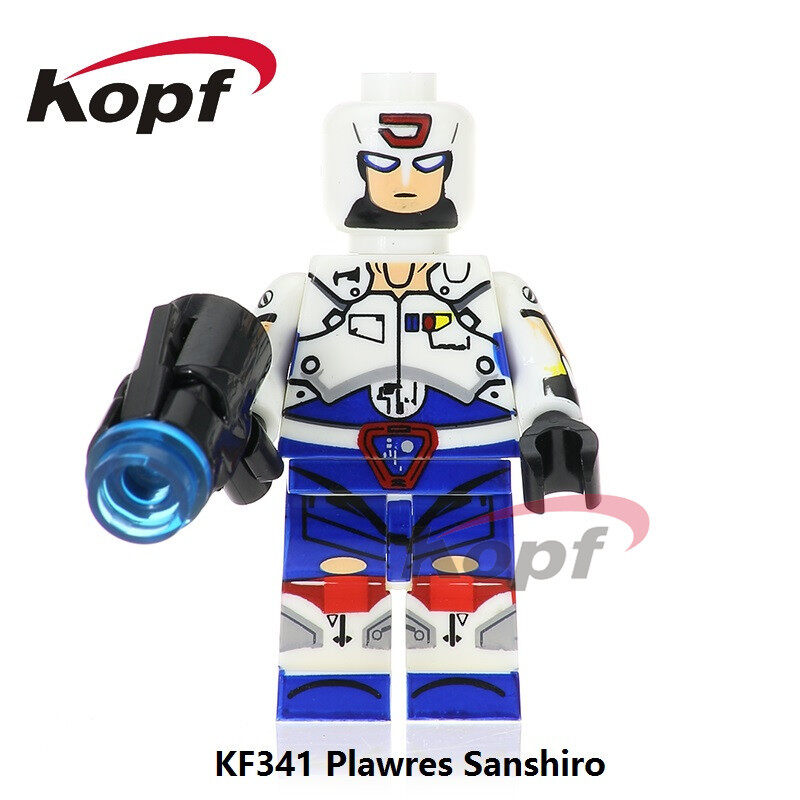 Kopf Third Party Series - KF341 Plawres Sanshiro Minifigures